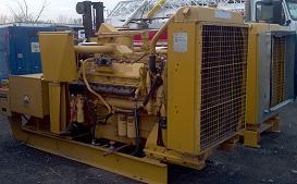 665 KW Caterpillar 3412 Generator