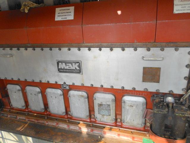 Mak 6M20 Generator 6