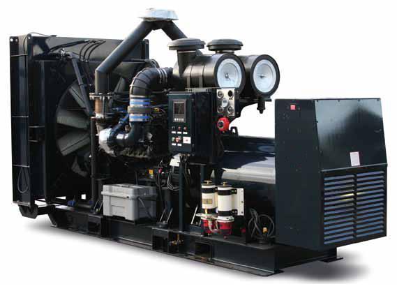 700 KW MTU 700 Generator