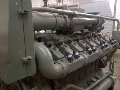 825 KW Waukesha P48GLD Generator