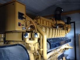 Cat G3520 edmonton power generator